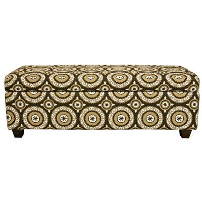 angelo:HOME Kent Wall Hugger Polyester Storage Bench