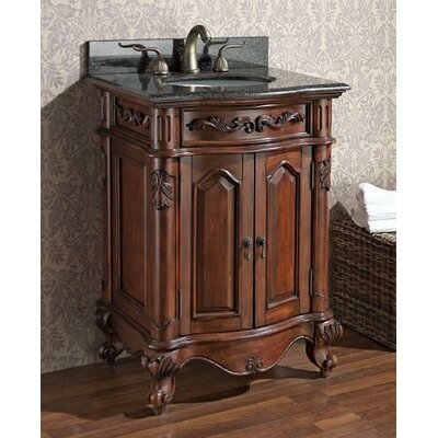 "Avanity Provence 25"" Bathroom Vanity inDistressed Antique Cherry"