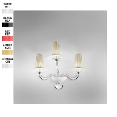 Zaneen Lighting Prado 3 Light Wall Sconce