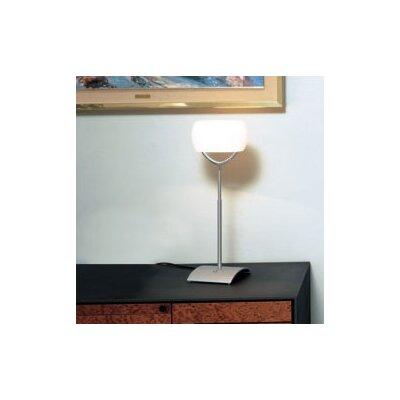 Zaneen Lighting Muroa Contemporary Table Lamp with Horizontal Shade