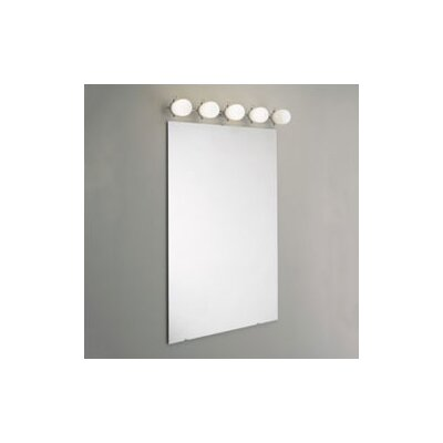 "Zaneen Lighting Bano 35"" Five Light Contemporary Vanity Light"
