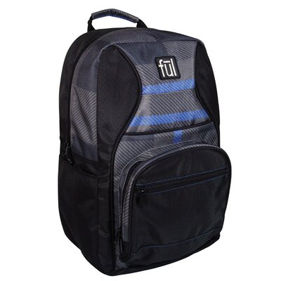 Superstition Backpack in Black Plaid