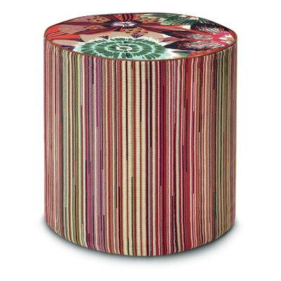 Missoni Home Omdurman PW Cylindrical Pouf Ottoman
