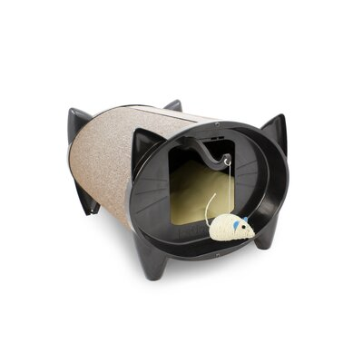 KatKabin by Brinsea Scratch Kabin Cat House in Oatmeal