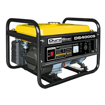 4,000 Watt 7.0 HP OHV 4-Cycle Gas Powered Portable Generator - DS4000S