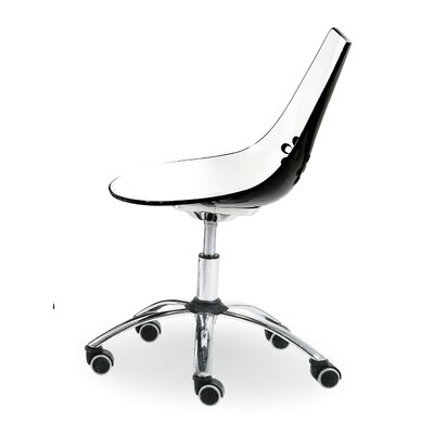 Calligaris High-Back Armless Task Chair