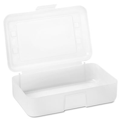 Advantus Corp. Gem Pencil/Box with Lid, 8 1/2 X 5 1/2 X 2 1/2