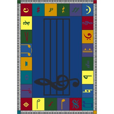 Joy Carpets Educational Note Worthy Kids Rug