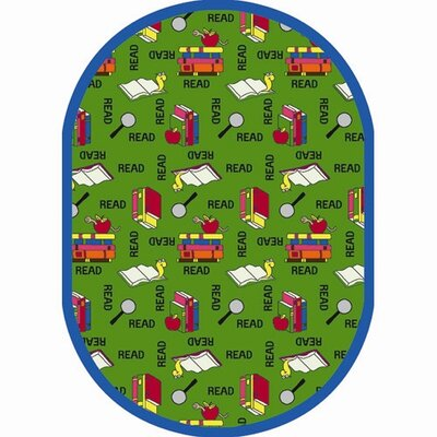 Joy Carpets Just for Kids Bookworm StainMaster Kids Rug