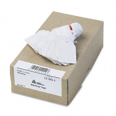 Avery Consumer Products Price Tags, Paper/Twine, 2-1/4 x 1-1/2, White, 1000 per Box