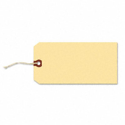 Avery Consumer Products Paper/Twine Shipping Tags, 6 1/4 X 3 1/8 (1,000/Box
