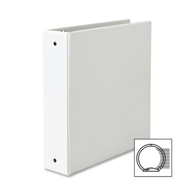 Avery Consumer Products Economy Reference View Binder, 2in Capacity, White