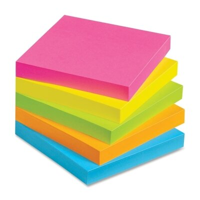 Avery Consumer Products Lay Flat 2 Strip Adhesive Sticky Note (Pack of 12)