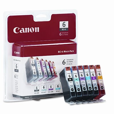 Canon 4705A018 (Bci-6) Ink (6/Pack)