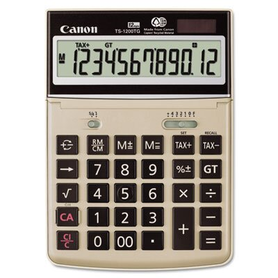 Canon 12-Digit LCD Desktop Calculator