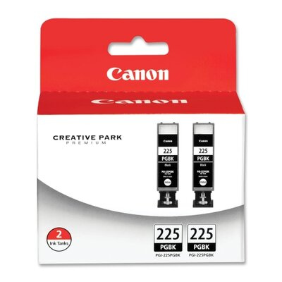 Canon Ink Cartridge, 2PK, Black