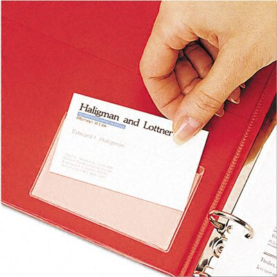 Cardinal Brands, Inc Top Load Holdit! Poly Business Card Holders (10/Pack)