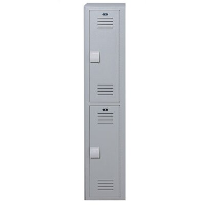 Lenox Plastic Lockers Plastic Locker - Double Tier - 1 Section