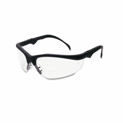 Crews® Klondike Magnifier Glasses, 1.5 Magnifier, Clear Lens
