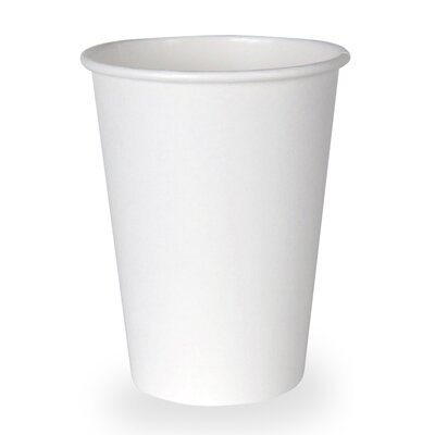 Dixie Hot Paper Cup in White