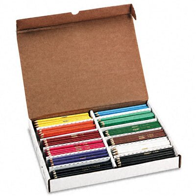 Dixon® Prang Prang Colored Woodcase Pencils, 288 Pencils/Box