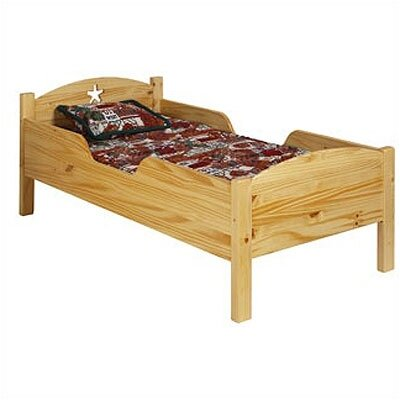 Little Colorado Traditional Star Toddler Bed