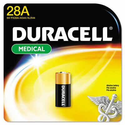 Duracell Alkaline Medical Battery, 6 Volt