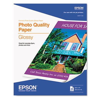 Epson America Inc. Photo-Quality Glossy Paper/Pack