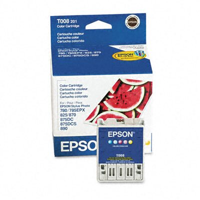 Epson America Inc. T008201 Intellidge Ink, 220 Page-Yield, 5/Pack
