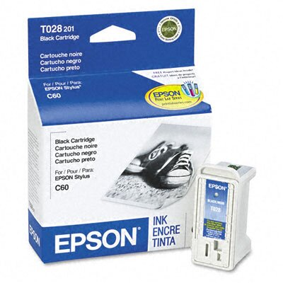 Epson America Inc. T028201 Intellidge Ink, 600 Page-Yield