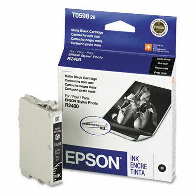Epson America Inc. T059820 Ultrachrome K3 Ink, 450 Page-Yield