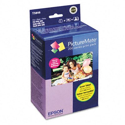Epson America Inc. Picturemate 200-Series Print Pack, 150 Sheets/Pack