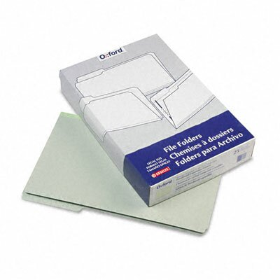 Esselte Pendaflex Corporation Pressboard Expanding File Folders, 1/3 Cut Top Tab, Legal, 25/Box