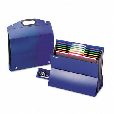 "Esselte Pendaflex Corporation Two"" Expansion Desktop File, Six Pockets, Poly, Letter"