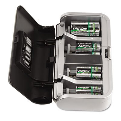 Energizer® Family Battery Charger, Multiple Battery Sizes
