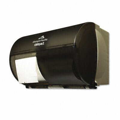 Georgia Pacific Compact Coreless Double Roll Tissue Dispenser