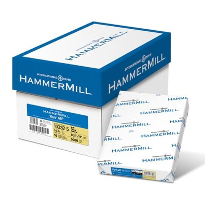 "Hammermill Colored Copy Paper, 20Lb, 8-1/2""x11"", 500/RM, Buff"