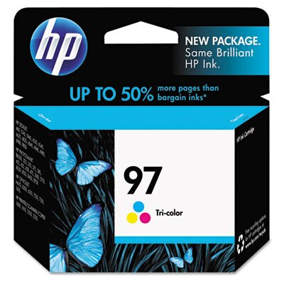 HP C9363WN (HP97) Inkjet Cartridge, High-Yield, Tri-Color