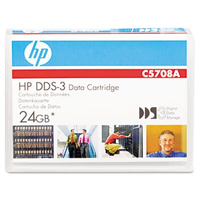HP 1/8&quot; Dds-3 Cartridge, 125M, 12Gb Native/24Gb Compressed Capacity