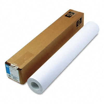 HP Designjet Inkjet Large Format Paper, 26 Lbs., 24&quot; X 150 Ft