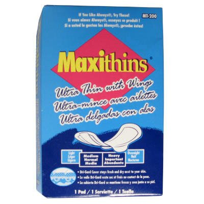 Hospital Specialty Maxithins Ultra-Thin Pads