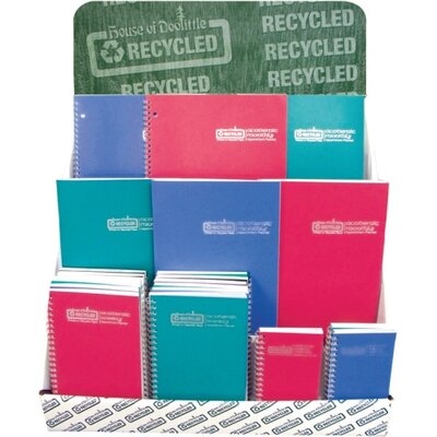 "House of Doolittle Wirebound Leatherette Monthly Planners, 14 Mos, 8-1/2""x11"", Red, 2013"