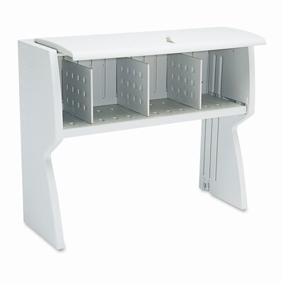 "Iceberg Enterprises Aspira 36"" H x 48"" W Desk Hutch"