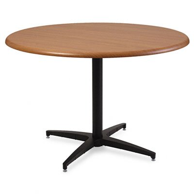 "Iceberg Enterprises Officeworks Round Table Top, 42"" Diameter, Cherry"