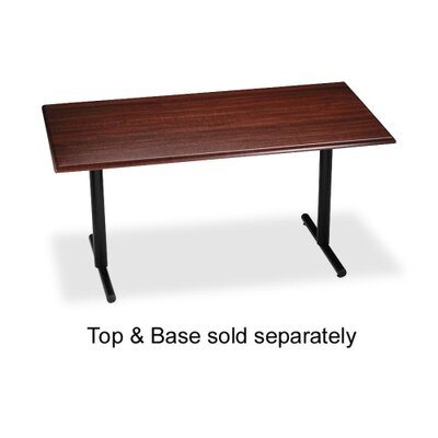 "Iceberg Enterprises T-Base, For Rectangular Table, 28""H, Black"