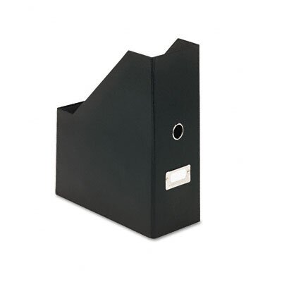 Ideastream Products Snap-N-Store Heavy-Duty Fiberboard Magazine File with PVC Laminate