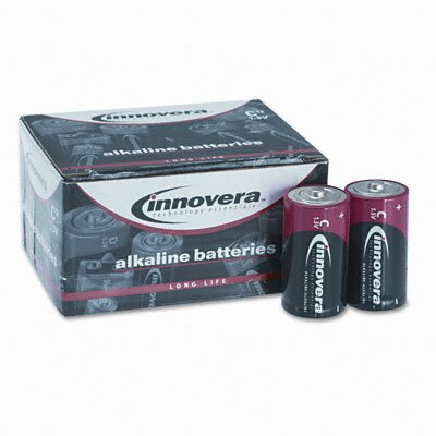 Innovera® Alkaline Battery, C, 12/Pack
