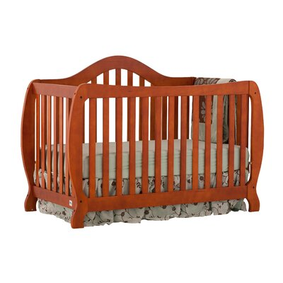 Storkcraft Monza Fixed Side 2-in-1 Convertible Crib