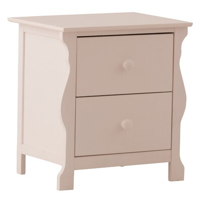 Storkcraft Carrara 2 Drawer Nightstand