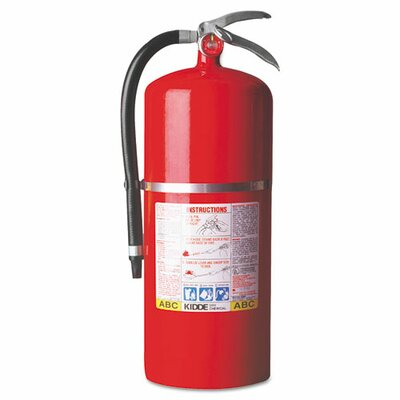 Kidde Fire and Safety Proplus Multi-Purpose Dry Chemical Fire Extinguisher